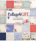 49 & Market Collection Pack 8\u0022X8\u0022-Cottage Life 9 Des/2 Ea
