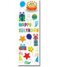 Sandylion Puffy Sticker-Birthday