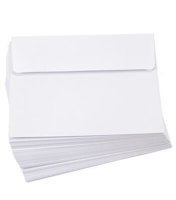 Core'dinations Envelopes:  A2 White; 50 pack