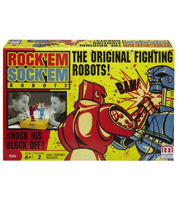 Mattel Rock 'Em Sock 'Em Robots Kids Game