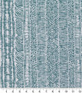 Robert Allen @ Home Print Swatch 55\u0022-Global Lines Cove