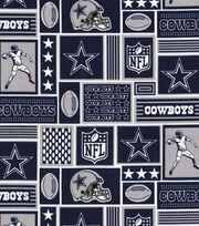 """Dallas Cowboys Cotton Fabric 58""""-Block, , hi-res"""