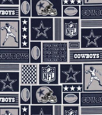 Dallas Cowboys Cotton Fabric -Block