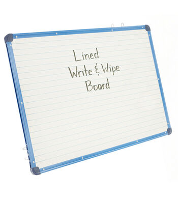 Copernicus Educational Magnetic Lined Dry Erase Board