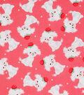 Novelty Cotton Fabric 43\u0022-Cutie Dogs