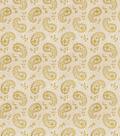 Eaton Square Lightweight Decor Fabric 53\u0022-Writing/Citrus