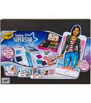 Crayola Fashion Superstar Designer Kit, , hi-res