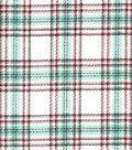 Snuggle Flannel Fabric -Breeze Plaid