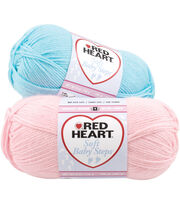 Red Heart Soft Baby Steps Yarn, , hi-res