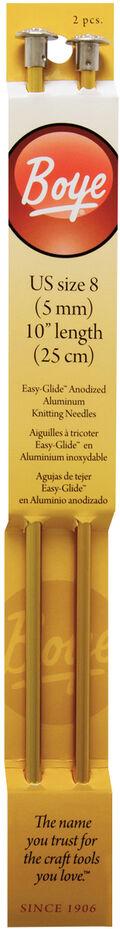 Single Point Aluminum Knitting Needles 10\u0022-Size 8/5mm