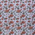 Harvest Cotton Fabric-Large Autumn Pumpkins Cream