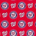 Washington Nationals Cotton Fabric -Logo