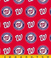 "Washington Nationals Cotton Fabric 58""-Logo, , hi-res"