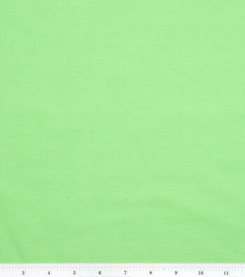 2 Yard Pre-Cut Symphony Broadcloth Fabric Remnant-Kelly Green