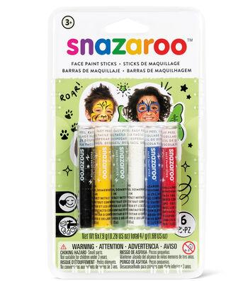 Snazaroo Face Painting Sticks - Unisex 6Ct