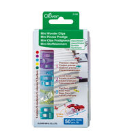 Clover Needlecraft Mini Wonder Clips 50 Pieces, , hi-res