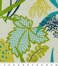 Waverly Sun N Shade Fabric 9\u0022x9\u0022 Swatch-Fishbowl Aquamarine