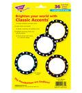 Trend Enterprises, Inc. Dot Circles Classic Accents, 36/Pack, 3 Packs