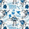Disney Toy Story Cotton Fabric-Galactic Hero