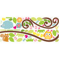 York Wallcoverings Wall Decals-Happi Scroll Branch