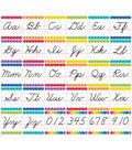 Painted Palette Cursive Handwriting Alphabet Bulletin Board Set, 2 Sets
