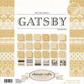 Ultimate Crafts The Ritz 12\u0027\u0027x12\u0027\u0027 Double-sided Paper Pad-Gatsby