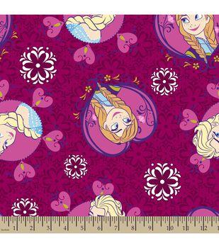 Disney Frozen Sisters Toss Fleece Fabric