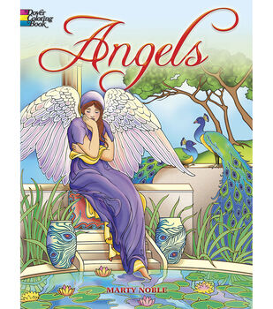 Adult Coloring Book Dover Publications Angels