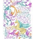 Stamperia Wonderland 8.27\u0027\u0027x11.69\u0027\u0027 Stencil