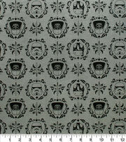 Star Wars Knit Fabric-Empire Helmets Floral, , hi-res