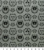 Star Wars Knit Fabric-Empire Helmets Floral, , hi-res