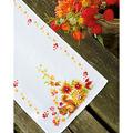 Vervaco 12.8\u0027\u0027x33.6\u0027\u0027 Aida Counted Cross Stitch Kit-Squirrel in Autumn