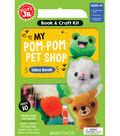 Klutz Jr. My Pom-Pom Pet Shop Book & Craft Kit