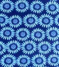 Blizzard Fleece Fabric-Blue Topaz Floral