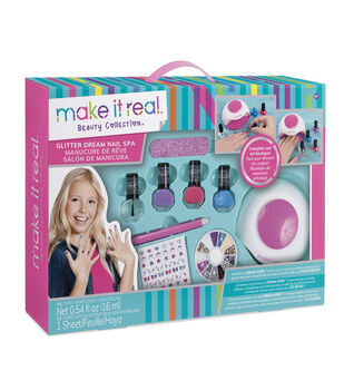 Make It Real Beauty Collection Glitter Dream Nail Spa