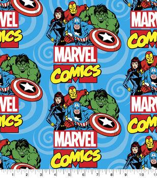Marvel Fleece Fabric-Ready For Action