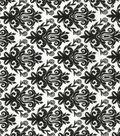 Quilter\u0027s Showcase Cotton Fabric -Black Damask