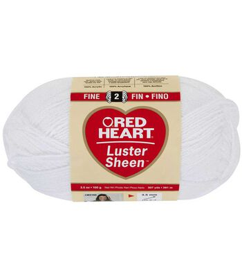 Red Heart Luster Sheen Yarn