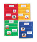 Learning Resources Magnetic Pocket Chart Squares, 4/pkg