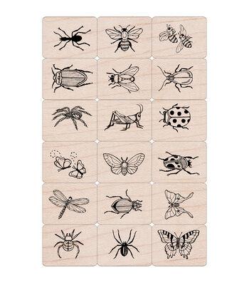 Hero Arts 18 Pack Ink 'n Stamps-Bugs