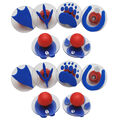 Ready2Learn Giant Stampers, Paw Prints, Set of 6, 2 Sets