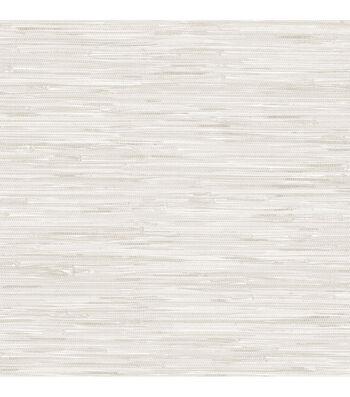 Wallpops NuWallpaper Peel & Stick Wallpaper-Grassweave Cream