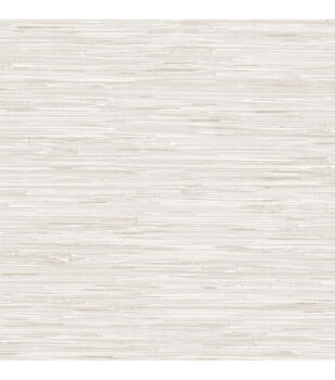 Wallpops NuWallpaper Peel & Stick Wallpaper-Cream Grassweave