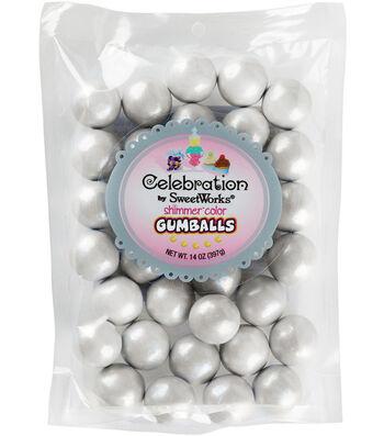 SweetWorks Celebration 14 oz. Gumballs Stand Up Bag