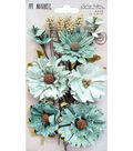 49 And Market Vintage Shades Botanical Blends 23 pk Flowers-Sage