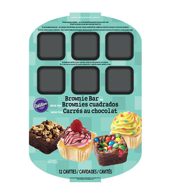 Wilton Brownie Bar Pan-12 Cavity
