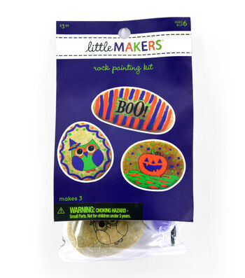 Litte Makers Halloween Stone Art Kit