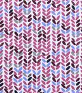 Snuggle Flannel Fabric 42\u0022-Emma Leaves