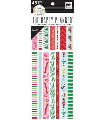 The Happy Planner Washi Sticker Book-Seasonal