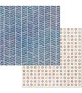 BoBunny Stay Awhile 25 pk 12\u0027\u0027x12\u0027\u0027 Double-Sided Cardstock-Thankful
